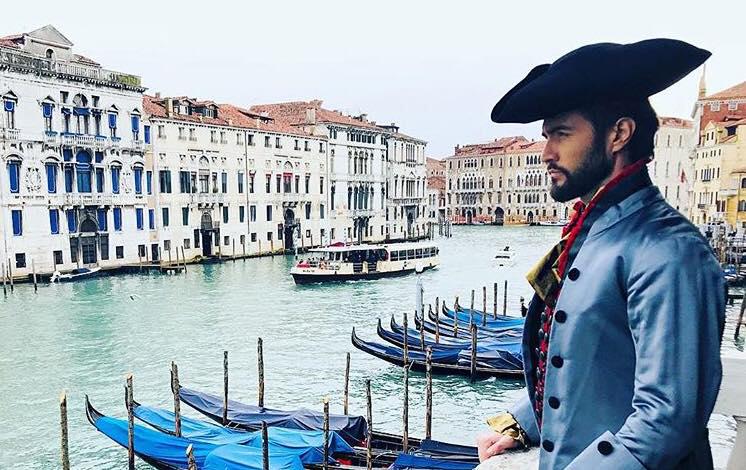 Carnevale Venezia 2018 – Alex Belli nel nostro Atelier